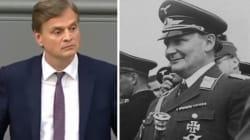L'extrême droite allemande a fait référence au nazisme pour sa toute première intervention au