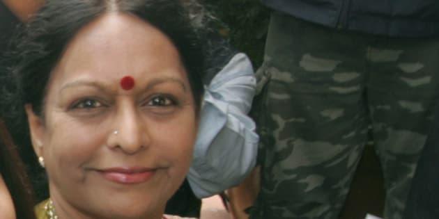 Nalini Chidambaram, P. Chidambaram's wife.