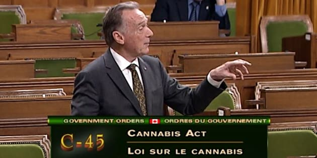 Peter Kent speaks in the House of Commons on Nov. 21, 2017.
