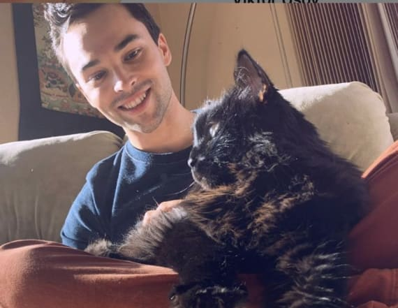 Man reunites with long-lost cat five years later