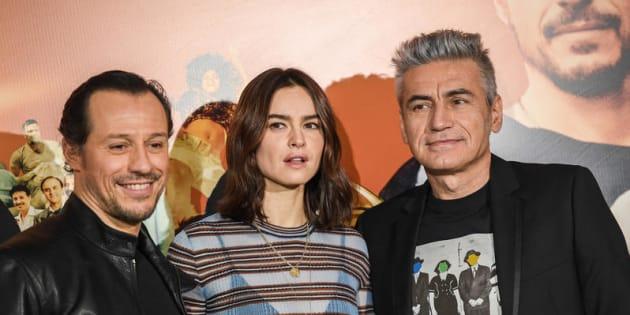 22/01/2018 Roma, photocall del film Made in Italy, nella foto il regista Luciano Ligabue, Kasia Smutniak e Stefano Accorsi