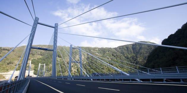 Un tratto dell' autostrada A3 Salerno Reggio Calabria
