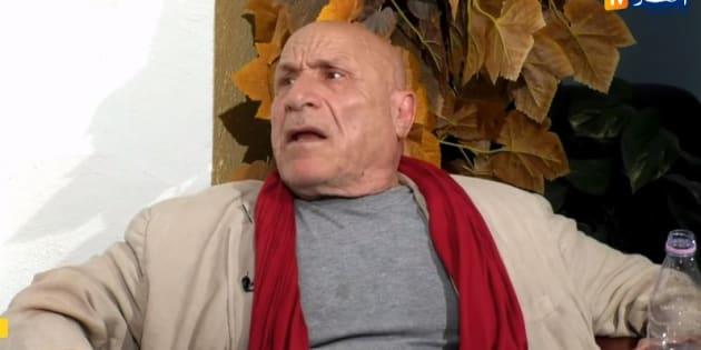 L'écrivain Rachid Boudjedra