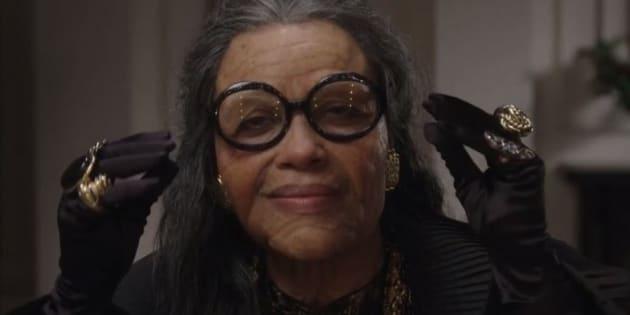 Avez-vous reconnu cette célèbre actrice maquillée en personne âgée?