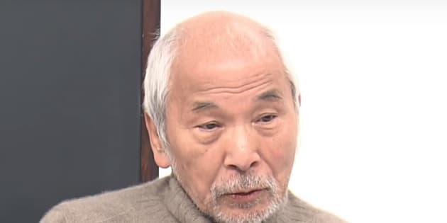 西部邁さん=東京MXテレビ「西部邁ゼミナール」のYoutube動画から