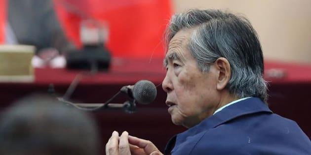 En la imagen, el expresidente peruano Alberto Fujimori.