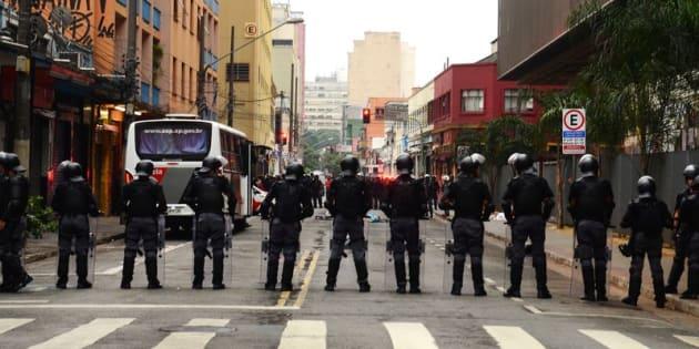 Abusos cometidos por policiais cresce 78% em São Paulo.