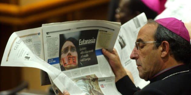 15/10/2005, SINODO DEI VESCOVI, ARTICOLO SULL' EUTANASIA