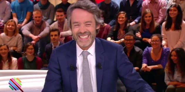 """Yann Barthes dans """"Quotidien"""" sur TMC mardi 7 mars."""