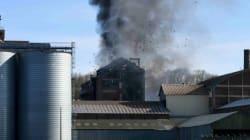 Violente explosion dans une usine d'huile à Dieppe, deux employés