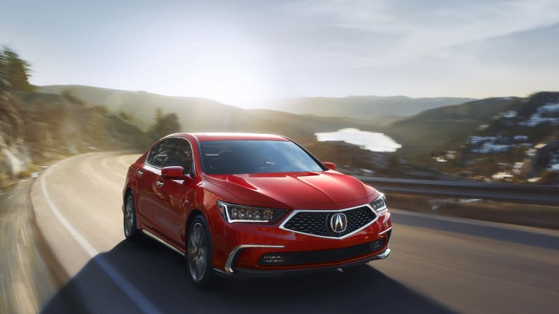 Acura RLX Gets Fresh Looks, New 10-Speed Automatic for 2018