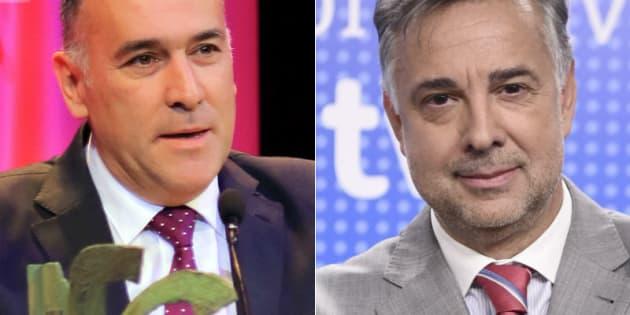 Xabier Fortes y Jenaro Castro