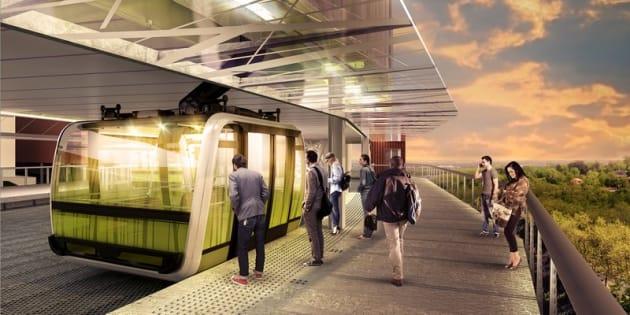 Toulouse va devenir la deuxième ville de France à avoir son téléphérique urbain