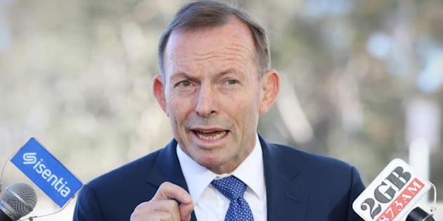 """Tony Abbott:  """"The only way an ex could ever come back is by way of a draft, and that's almost impossible to imagine."""""""