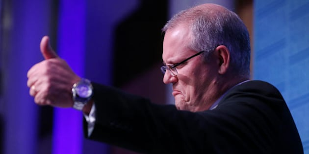 "Treasurer Scott Morrison: ""Don't do it."""