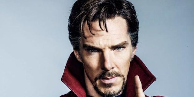 Benedict Cumberbatch en Doctor Strange (illustration)
