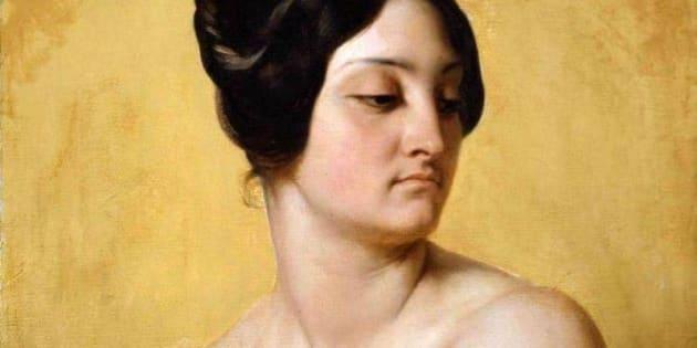 "Studio di Olympe Péllissier per ""Giuditta e Oloferne"" a cura di Horace Vernet"