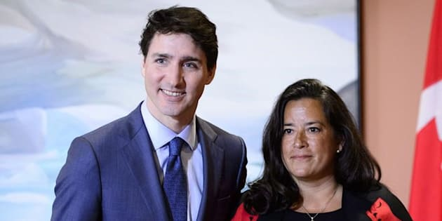 Photo d'archives de Justin Trudeau et Jody Wilson-Raybould.
