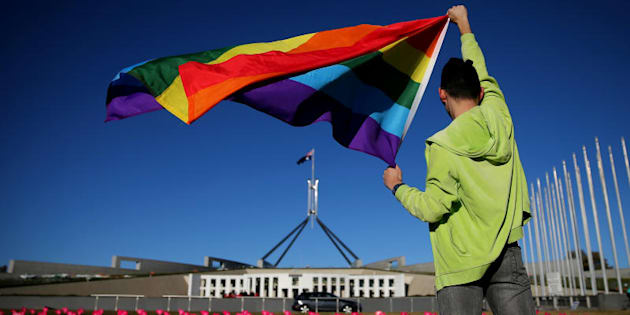"Rodney Croome: ""We'll be filing in the High Court to have the High Court strike down the postal plebiscite."""
