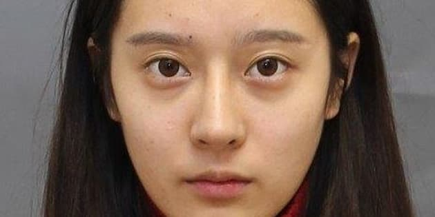 Jingyi Wang, 19, was arrested in Toronto on Friday for aggravated assault.