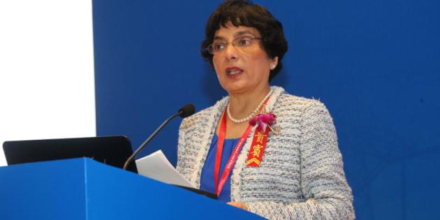 Marlene Kanga, Presidente Wfeo, a Roma