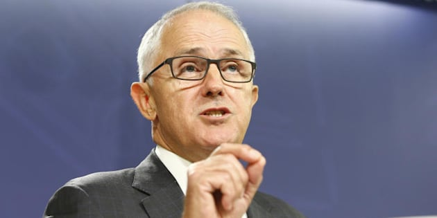 Prime Minister Malcolm Turnbull: 'It would be irresponsible to be giving a free-ranging amnesty over conduct that is against the law.'