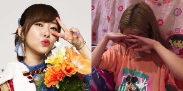 (左)指原莉乃さん公式Twitter/(右)ぺこさん公式Instagram