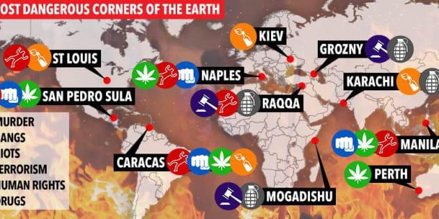 Napoli è tra le 10 città borderlyne secondo il tabloid Sun
