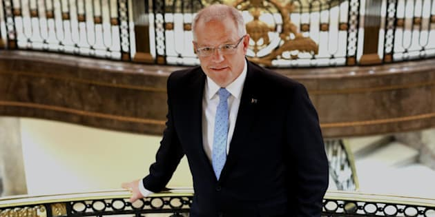 Treasurer Scott Morrison talks up 'Australia first.'