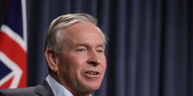 WA Premier Colin Barnett feels personally let down by Dean Nalder