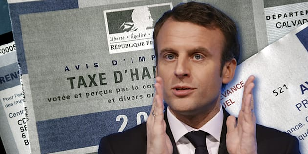 Image result for taxe d'habitation macron