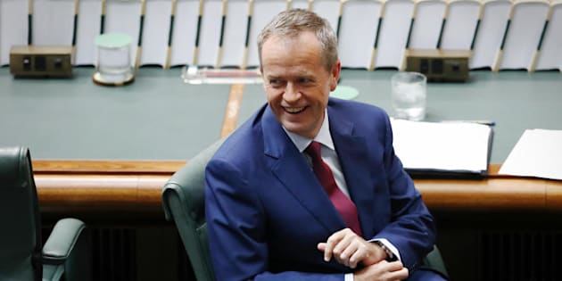 "Labor Leader Bill Shorten: ""This Prime Minister is so determined to deliver a tax cut for millionaires, he's declaring 'mission accomplished' on budget repair."""