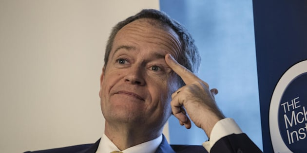 Opposition Leader Bill Shorten says getting lecture from the Prime Minister on courage is laughable
