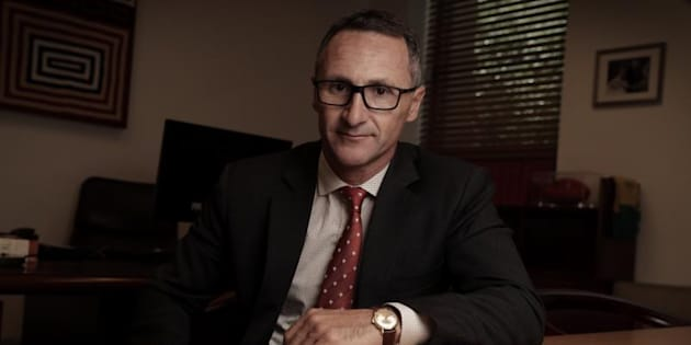 Greens Leader Senator Richard Di Natale is sick of 'pollies taking the piss'.