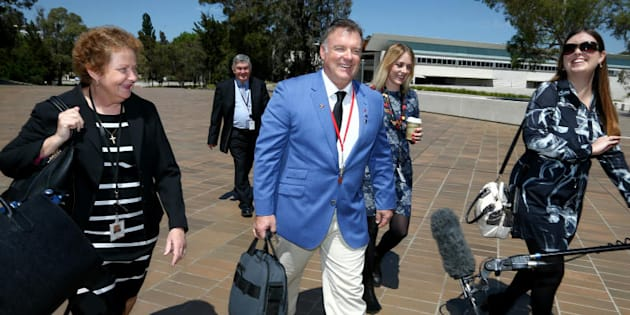 "Rod Culleton: ""I'm not here to disadvantage the Australian people. I'm here to represent them."""