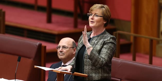 Senator Linda Reynolds says it is better to take on hate rather than shy away from it
