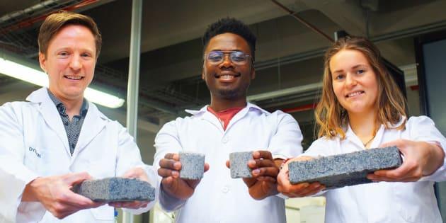 Ces étudiants ont créé la première brique à base d'urine