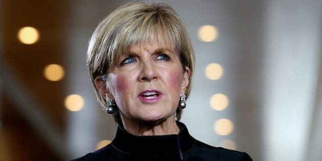 "Julie Bishop on Bill Shorten: ""He needs to reveal his involvement in what is treacherous behaviour."""