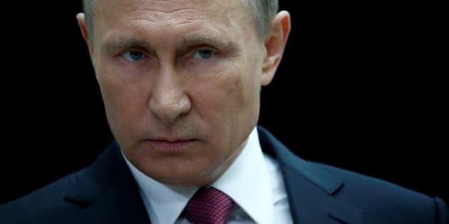 Vladimir Putin, el presidente de Rusia, durante un encuentro con periodistas en Moscú, el pasado 15 de junio.