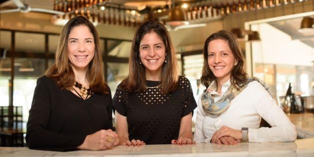 Na sequência, Letícia Kina, Paula Lindenberg e Patrícia Capel.