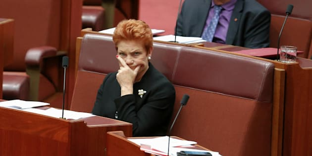"One Nation Leader Pauline Hanson says Rod Culleton ""would make a very good senator if he could only take direction."""