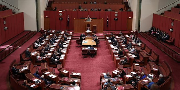 The private senators bill from Liberal senator Dean Smith has passed the senate on Wednesday.