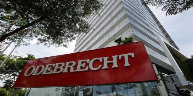 Oficina de la constructora brasileña Odebrecht, acusada de sobornar funcionarios en Latinoamérica.