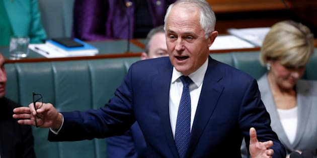 "Malcolm Turnbull: ""If you have friends who are really distressed by this sort of language, stand up for them, put your arms around them."""