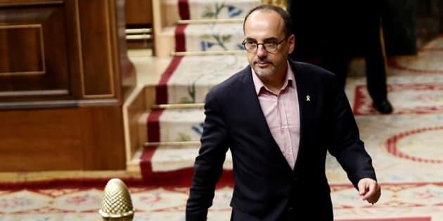 El portavoz del PDeCAT en el Congreso, Carles Campuzano. EFE/Archivo