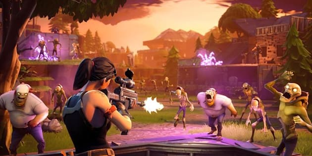 Police in Quebec warn of online sexual extortion linked to popular Fortnite game, pictured here.