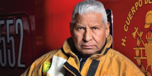 """""""Jefe Vulcano"""", Raúl Esquivel."""