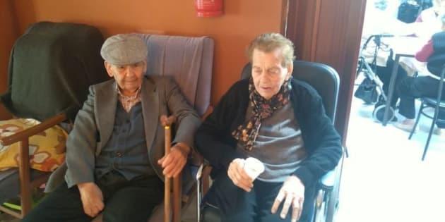 Francisco y Ana, en la foto difundida por su biznieta.
