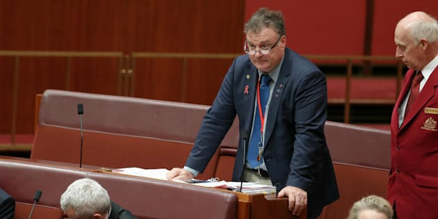 """Senator Rod Culleton says he can """"no longer tolerate the lack of party support for my positive initiatives."""""""