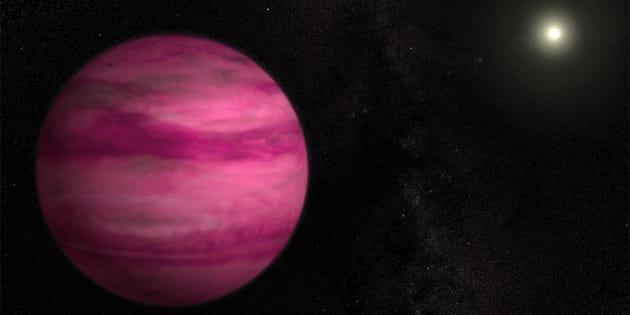 Photo d'illustration: vue d'artiste d'une autre exoplanète, GJ 504b.